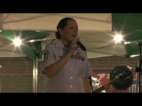 ロック演奏 ハートビートソング ケリー・クラクソン アメリカ空軍太平洋音楽隊 パシフィック・トレンズ HeartBeat Song by Kelly Clarkson