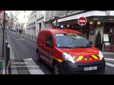 BSPP VID 241 + SPVL 412 + 407 // Paris Fire Dept. Support Vehicles (X3)