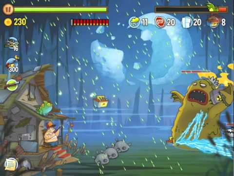 Swamp Attack - Episode 3-18 Swamp monster BOSS! NEW прохождение
