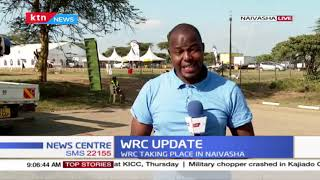 WRC Update: It's day two of Safari Rally; WRC is taking place in Naivasha
