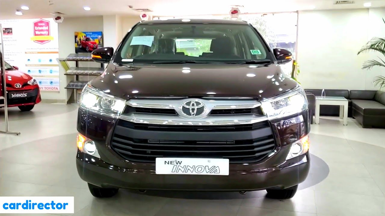 Toyota Innova Crysta 2 4 Vx 7str 2020 Bs6 Innova 2020 Vx Interior Exterior Real Life Review Youtube