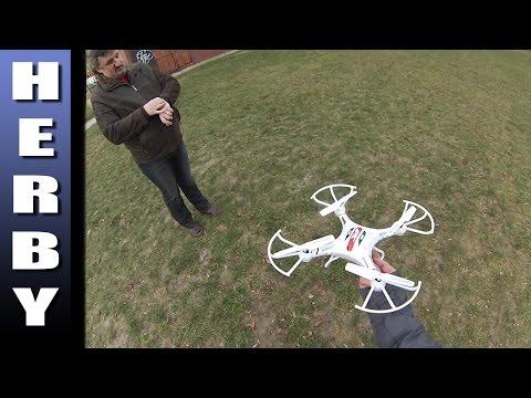 JRC H8C drone teszt
