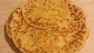 Блинчики с жареным луком и сыром / Pancakes with fried onions and cheese