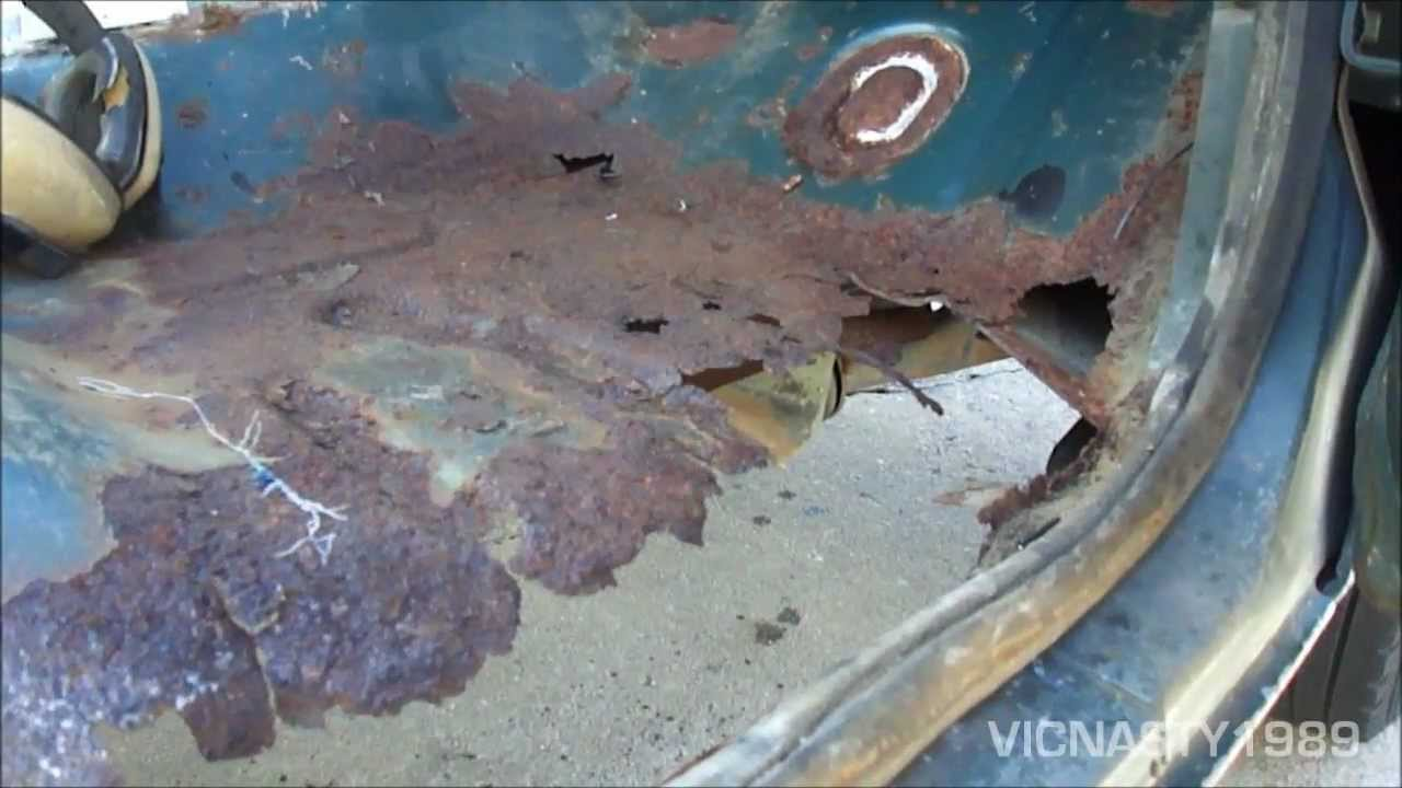 Floor Pan Rust 1986 Ford F25o 4x2 Youtube