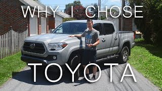 Why I chose the 2019 Toyota Tacoma instead of the Ford Ranger or Chevrolet Colorado