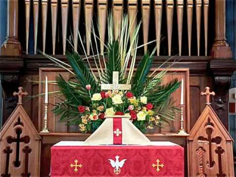 Hosanna, Loud Hosanna - Palm Sunday - Pipe Organ - VIRTUAL CHURCH