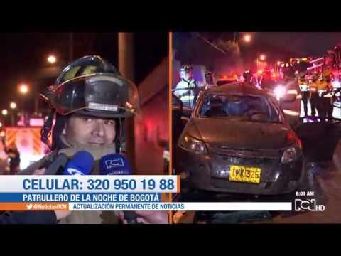 Grave accidente de tránsito en Bogotá