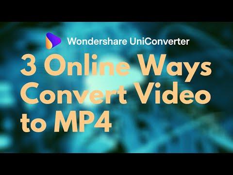 3 ways Convert Video to MP4 - Online Video Converter