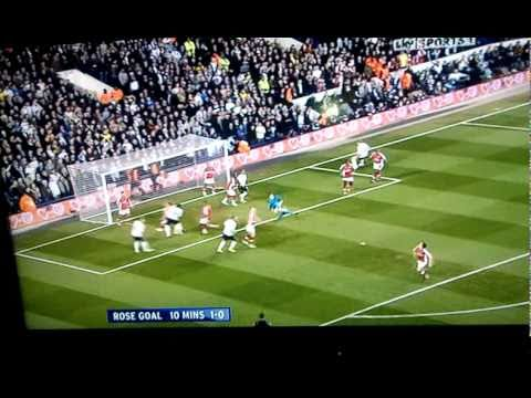 Danny Rose Goal v Arsenal
