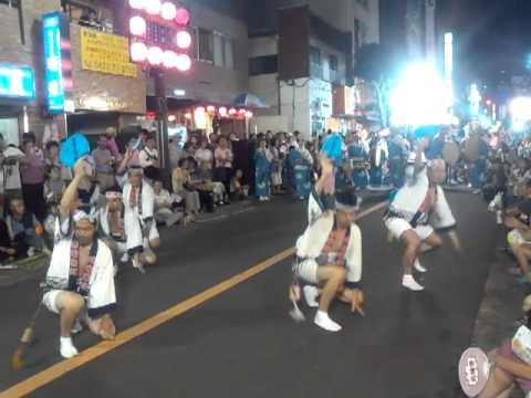 志留波阿連 三鷹阿波踊り 20120819