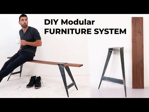 diy-modular-mid-century-modern-furniture-|-the-slide-on-bench