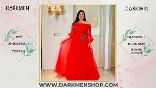25 05 21 1часть Показ женской одежды больших размеров DARKWIN от DARKMEN Турция Стамбул Опт