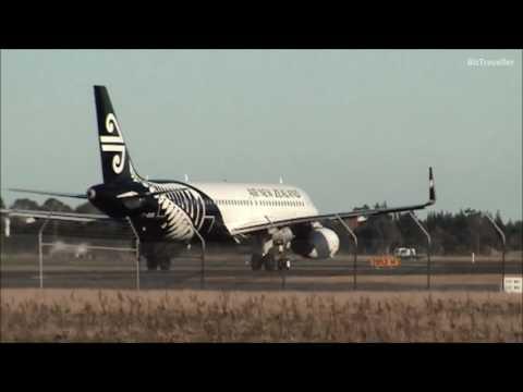 Plane Spotting Christchurch International Airport | 26 July 2016