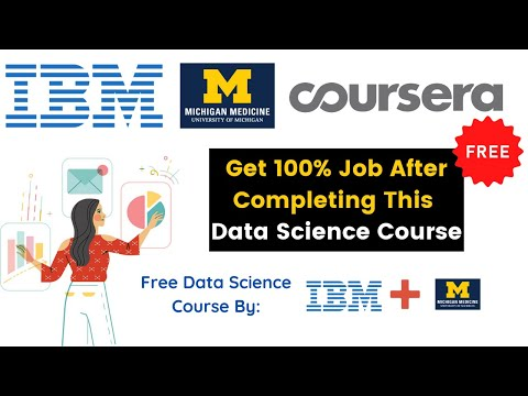 How To Become Data Scientist For Free | Get Coursera Data Science Courses For Free | IBM Free Course