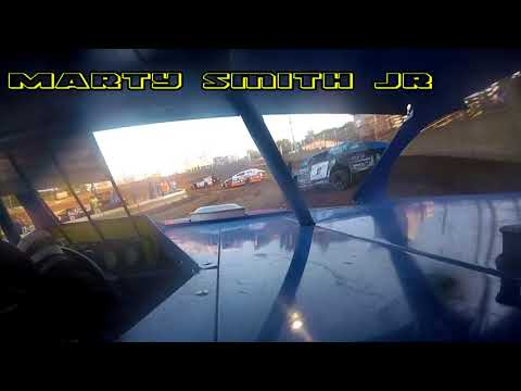 In Car Cam of Marty Smith Jr.  at Belle-Clair Speedway 8-3-18