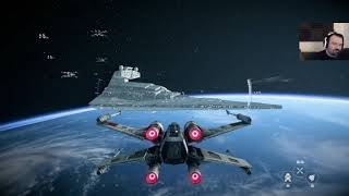 Star Wars Battlefront II Campaign pt12 - From Tie Fighter to X-Wing Pilot