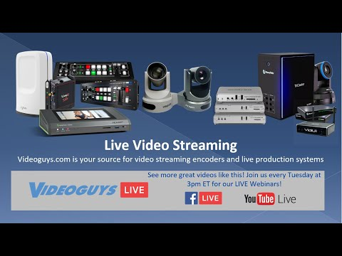 A Guide to Video Encoders for Live Streaming