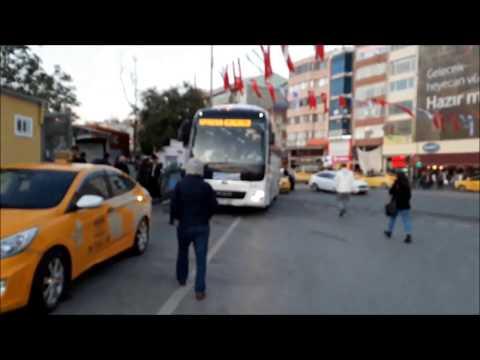 Kadıköy'den Sabiha Gökçen Havalimanı'na Ulaşım, Havabüs Havalimanı Otobüsleri  Durağı