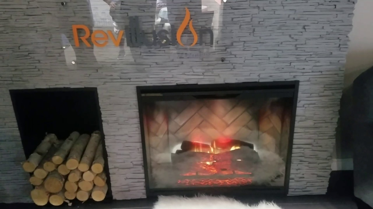 Dimplex Revillusion Electric Fireplace  YouTube