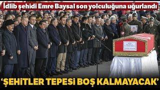 Cumhurbaşkanı Erdoğan, İdlib Şehidinin Cenazesine Katıldı