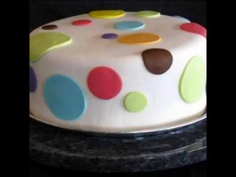 Easy Design Basic Fondant Cakes For Beginners