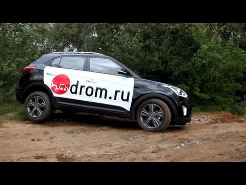 Hyundai Creta 2.0 AT 4WD vs Renault Kaptur 2.0 AT 4WD на легком бездорожье