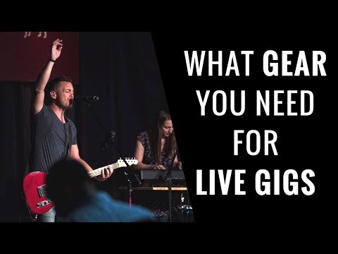 What Gear You Need for Live Performances – RecordingRevolution.com