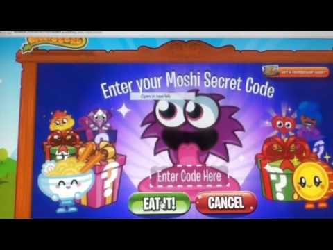 Moshi Monsters Secret Codes 2013