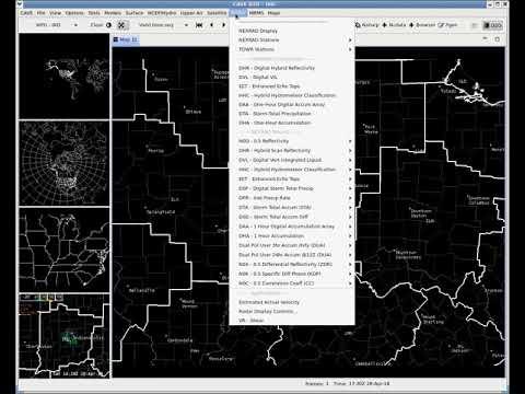 Loading Radar Data Into AWIPS