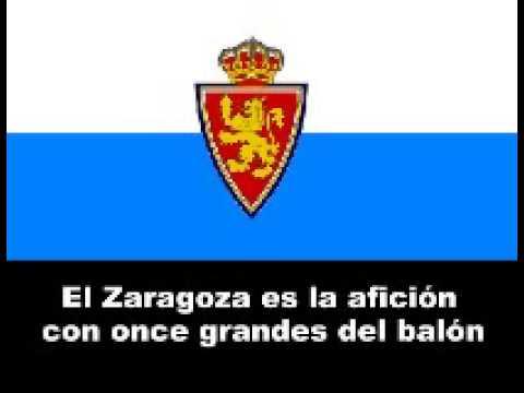 Himno del Zaragoza/Zaragoza's anthem