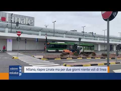 Milano, Riapre Linate Ma Per Due Giorni Niente Voli Di Linea