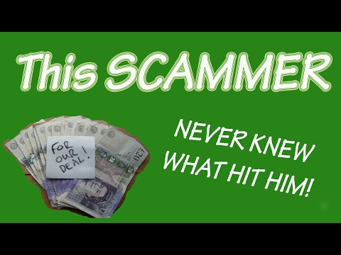 SCAMMER gets RIPPED OFF...Big Time!
