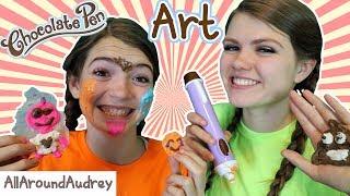 CHOCOLATE PEN ART CHALLENGE! / AllAroundAudrey