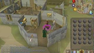 working on Rc and mining in runescape