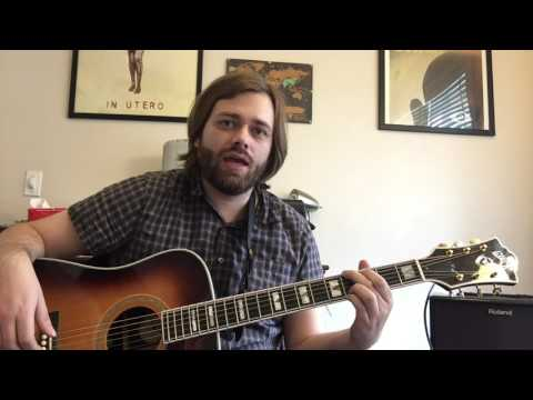 Meat Puppets / Nirvana - Plateau Guitar Lesson