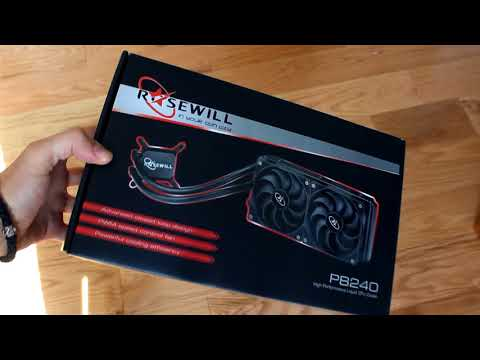 Review of Rosewill's PB240 AIO Liquid Cooler