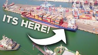 CARGO SHIP CAME EARLY! - Cargo Ship Travel Vlogs thumbnail