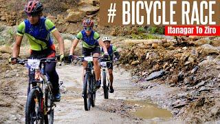 Mountain Terrain Bike Race Ziro To Raga, Drone RIP   MTB Arunachal Vlog 02