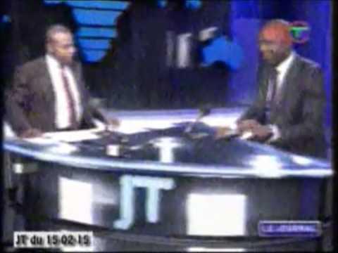 MAX Bonbhel invité du JT de tele congo 15/02/15