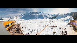 Азербайджан Шахдаг  горнолыжная зона отдыха 2018 год отдых зимой в горах