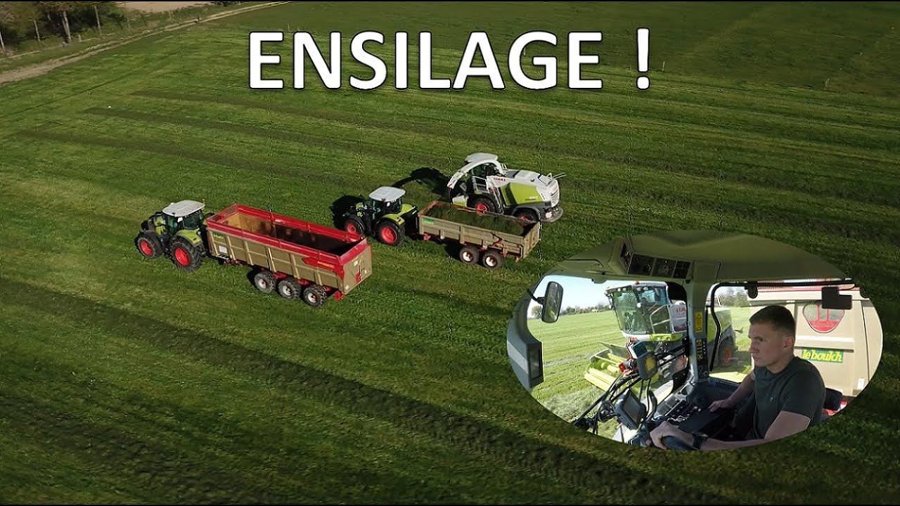 Ensilage d'herbe chez un voisin !