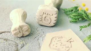 Видео-урок по изготовлению штампов из глины