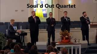 Soul'd Out Quartet singing at Hopewell. Due to technical problems, ...