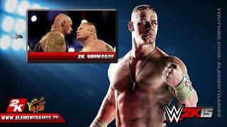 WWE 2K15 Gameplay PS4, XBOX One, PS3, XBOX 360 - Menu #2