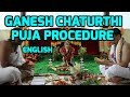 Ganesh Chaturthi Puja Procedure In English (ganesh Pooja) video