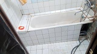 Сколько стоит отделка плиткой и пластиком в ванной и туалете в 2018. Ремонт ванной комнаты, часть 1