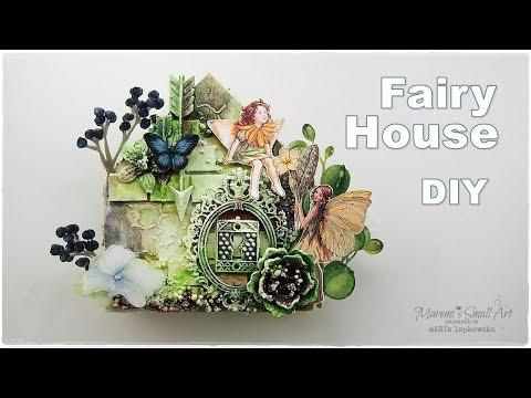 DIY Fairy Wooden House ♡ Maremi's Small Art ♡