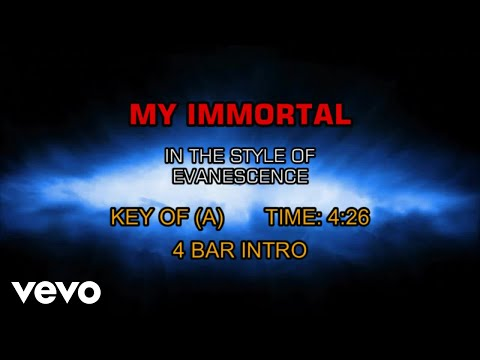 Evanescence - My Immortal (Karaoke)