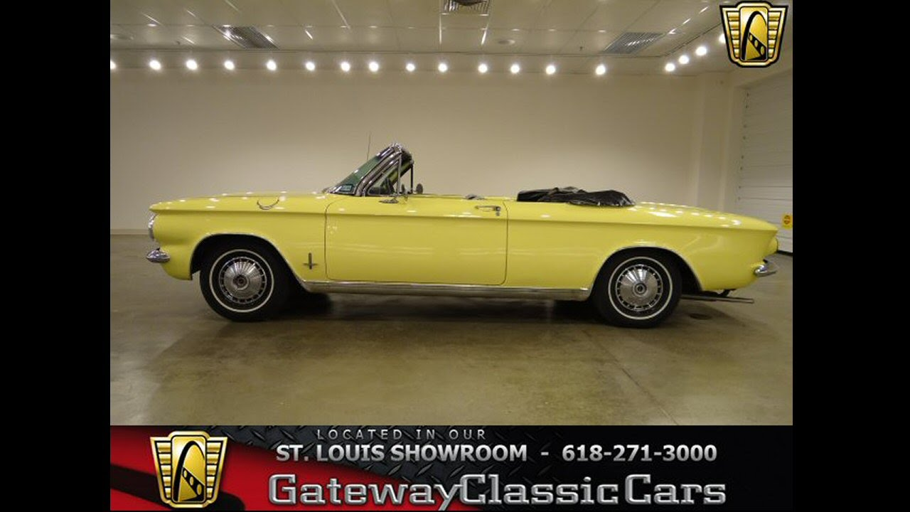 1964 chevrolet corvair for sale at gateway classic cars in our st louis mo showroom youtube. Black Bedroom Furniture Sets. Home Design Ideas