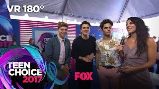Forever In Your Mind Reunites Before The Teen Choice Awards | TEEN CHOICE